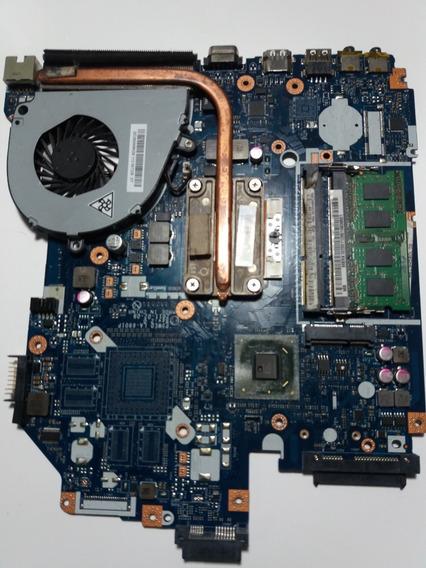 Placa Mãe Note Acer 5750 La-6901p + Proc I5 + 2gb + Cooler