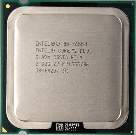 Proc. Intel Core 2 Duo E6550 2.33ghz 4mb De Cache