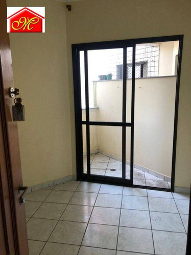 Imagem 1 de 6 de Apartamento Com 1 Dormitório Para Alugar, 45 M² Por R$ 1.000,00/mês - Dos Casa - São Bernardo Do Campo/sp - Ap0079