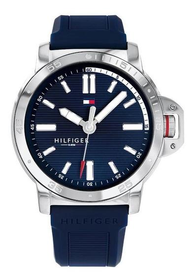 Reloj Tommy Hilfiger Caballero Color Azul 1791588 - S007