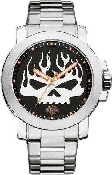 Relógio Bulova Harley Davidson Masculino Analógico Wh30135t