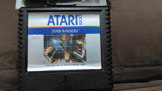 Cartucho Atari 5200- Star Raiders