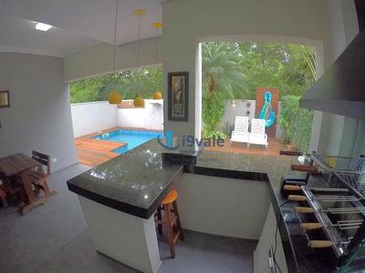 Casa Com 3 Dormitórios À Venda, 218 M², Condomínio Crystal Park - Jacareí/sp - Ca1096