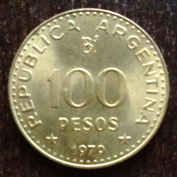 Moneda 100 Pesos Argentina 1979 Excelente