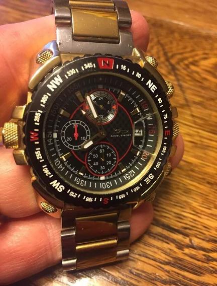 Relógio ( Não É Seiko, Citizen ) Daniel Steiger Cronógrafo