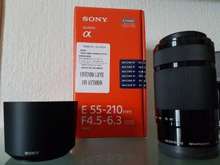 Lente Sony Nuevo E 55-210 Mm F4.5-6.3 Oss
