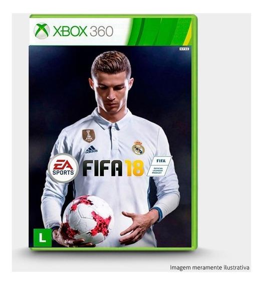Fifa 18 - Original P Xbox 360 - Novo