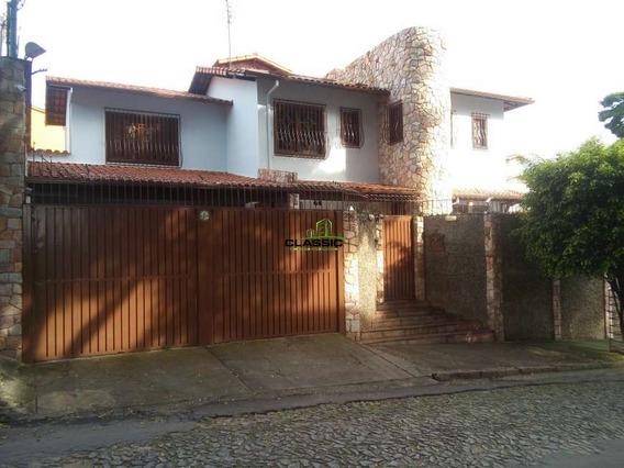Casa Com 4 Quartos Para Comprar No Santa Branca Em Belo Horizonte/mg - 3503