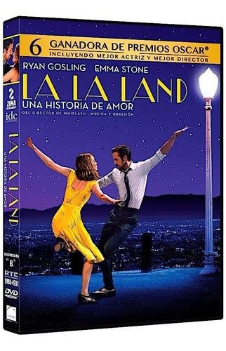 La La Land Una Historia De Amor Ryan Gosling Pelicula Dvd