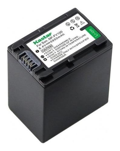 Batería Y Cargador Np-fv100 Kastar