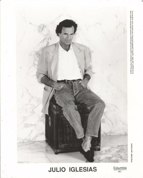 Julio Iglesias Foto 20 X 25 1991
