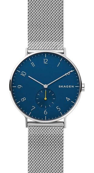 Relógio Skagen Masculino Slim Analógico Skw6468/1kn
