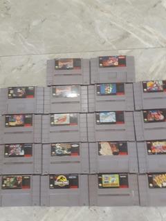Se Venden Juegos Súper Nintendo