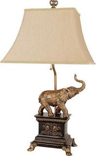 Lampara De Elefante, Lampara Clásica, Para Sala O Recamara
