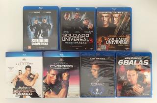 7 Blu-ray Coleção Van Damme Dragão Branco Soldado Universal