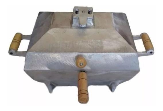 Churrasqueira Aluminio Fundido À Bafo Com Grelha - Bafinho