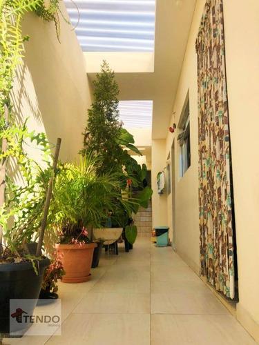 Imagem 1 de 15 de Sobrado 147 M² - Venda - 4 Dormitórios - Jardim Mauá - Mauá/sp - So0265