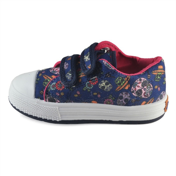 Zapatilla Nena Abrojo Calaveras Small Shoes