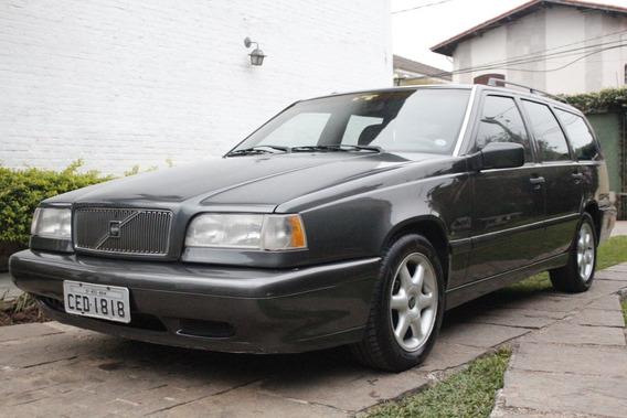 Volvo 850 Gle 1995 Cinza Excelente Estado!!! Revisado