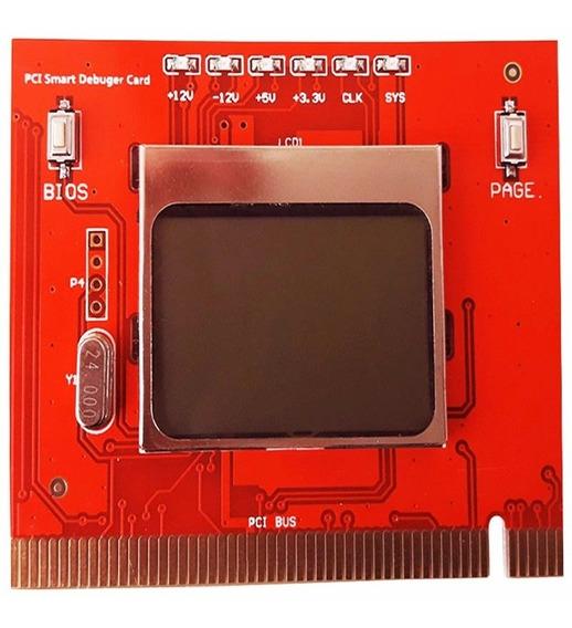 Tester Para Mother Placa Diagnostico Post Card Smart + Lcd