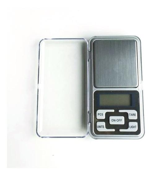 Mini Balança Digital 0,01g 200g Lcd Com Brilho Bocada