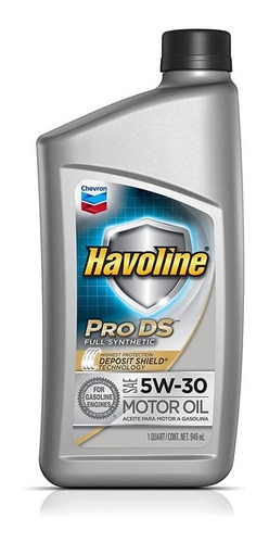 Imagen 1 de 7 de Aceite 5w30 100% Sintetico Havoline Pro Ds Americano Mileban