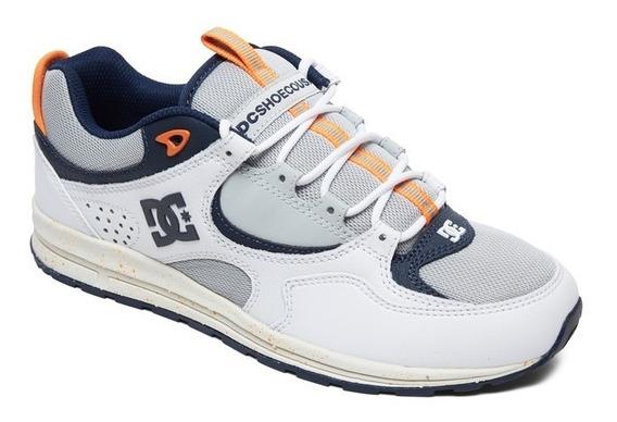 Tênis Dc Shoes Kalis Lite Se Imp - Grey/white - Promoção
