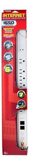 Prime Pb004115internet 7-outlet 1650-joule Surge Protect