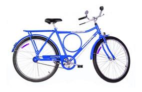 Bicicleta Aro 26 Monark Freio Varão Barra Circular - 52937
