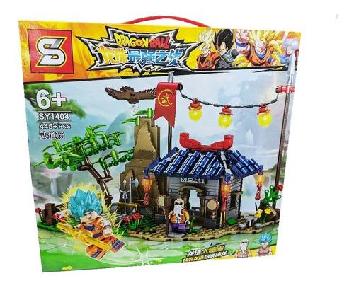 Set De Figuras Dragon Ball Super Goku Armable 445 Piezas