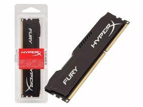 Memória Gamer Hyperx Fury Ddr3 8gb 1600mhz