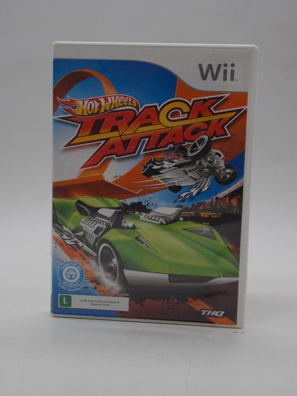 Hot Wheels Track Attack Wii E Wii U Original Mídia Física
