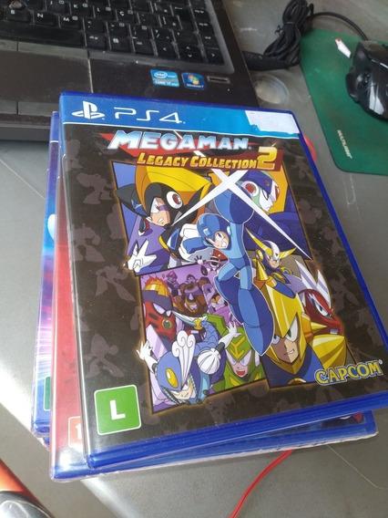 Megaman Legacy Collection 2 Ps4 Frete 18 Reais