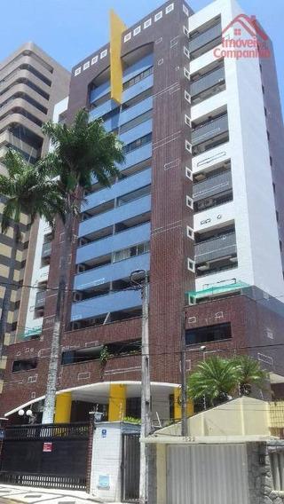 Apartamento Com 4 Dormitórios À Venda, 158 M² - Aldeota - Fortaleza/ce - Ap1625
