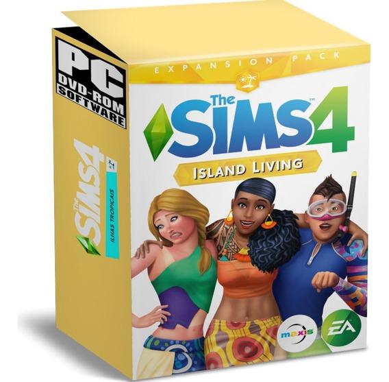 The Sims 4 Jogo Oficial Ihas Tropicais + Todas Expansões + Atualização Grátis - Promoção - Português Brasil