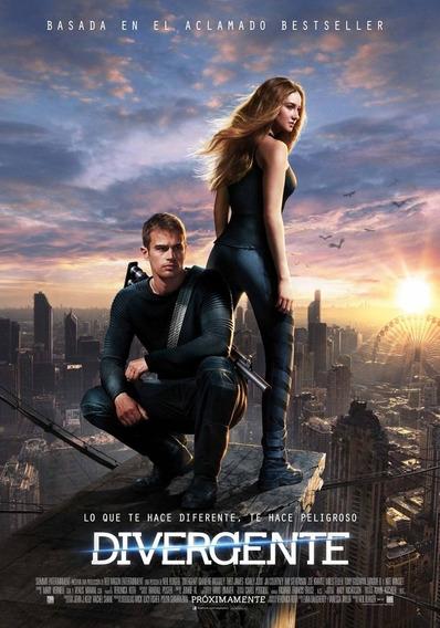 Poster Original Cine Divergente