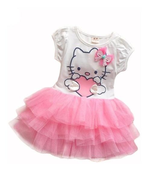 Hermoso Vestido Hello Kitty