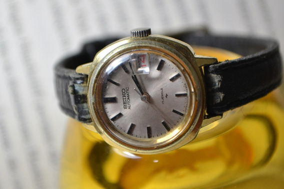 Relógio Seiko Automatic 17 Jewels 2205-0240 Pulseira Preta