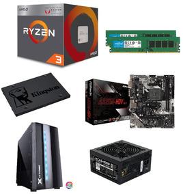 Pc Gamer Amd Ryzen 3 2200g - 8gb(2x4gb) - Ssd 240gb - Vega 8