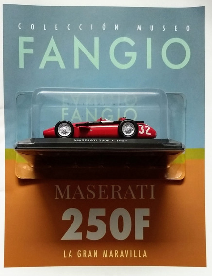Colección Museo Fangio N° 4 Maserati 250 F (1957)