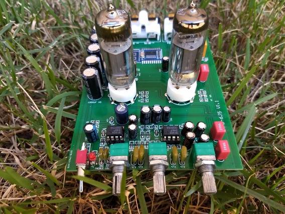 Pre Amplificador Bluetooth Valvulado