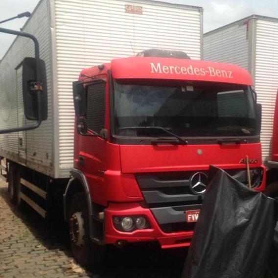Caminhão Mb Atego 2426 Bau 9mts Ano 2014 - Sucata