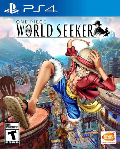 One Piece: World Seeker - Ps4 - Midia Fisica!