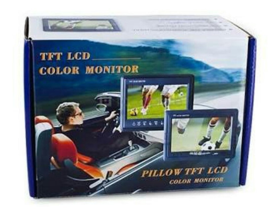Monitor De Teste Cftv Tft Lcd Color