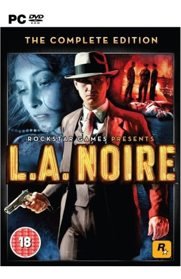 L.a. Noire: The Complete Edition - Pc Mídia Digital