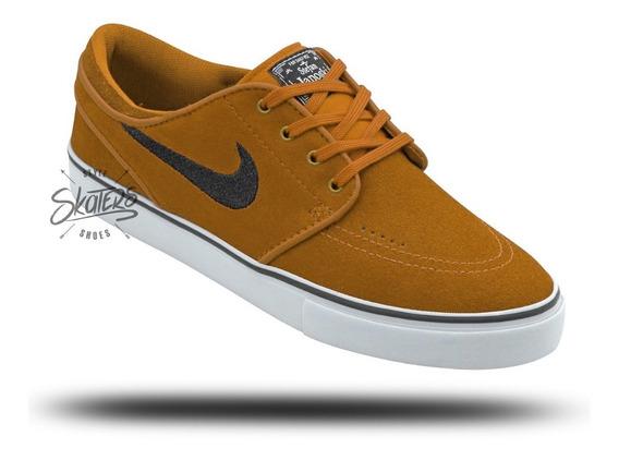 Tênis Nike Skate Sb Zoom Stefan Janoski Og Camurça Leather