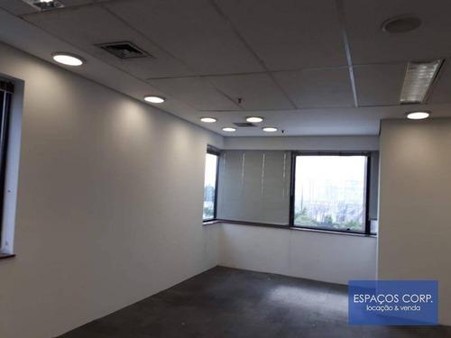 Conjunto Comercial Para Alugar, 120m² - Brooklin - São Paulo/sp - Cj1796