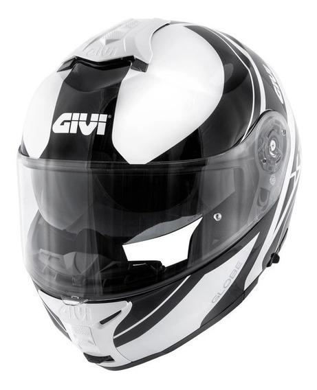 Capacete Givi X21 Globe Branco/preto S2r