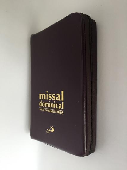 Livro Missal Dominical Da Assembléia Cristã Paulus Zíper
