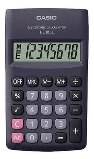 Calculadora Básica Casio Hl-815l Gran Display 8 Dígitos